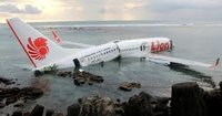 Lion Air Boeing 737 MAX crashed into the sea