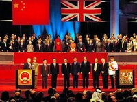 Hong Kong's sovereignty transfer from UK to China