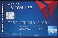 Co-branded card Delta and American Express