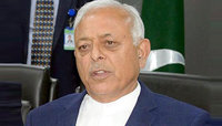 Pakistani Aviation Minister Ghulam Sarwar Khan