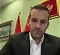 Milojko Spajić, minister van financiën van Montenegro