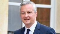 Fench finance minister Bruno Le Maire